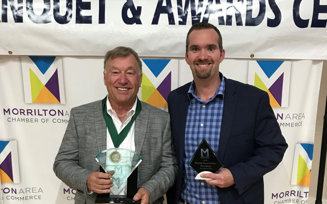 Miller and Crow Group Honored at Chamber Banquet