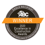 Associated Builders and Contractors of Arkansas 2020 Excellence in Construction Award Winner